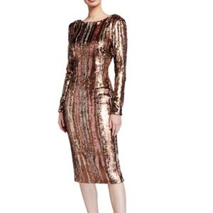 Dress the population sequin dress